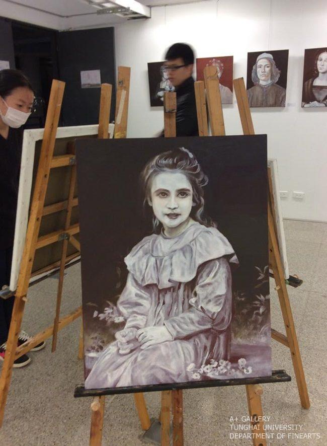 [A+藝術空間]  古典油畫作品臨摹成果展-進修學士班油畫專題