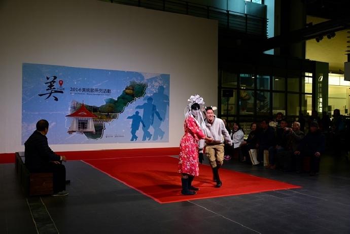 本校美術系受邀參加國立臺灣美術館美術節活動