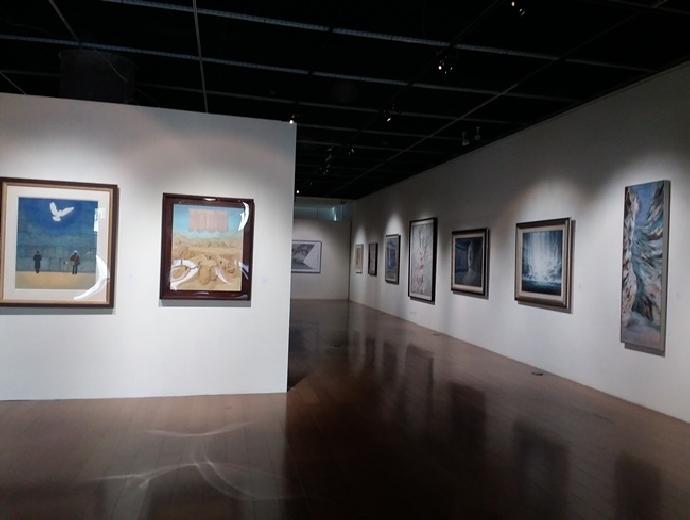 藝術中心 「人文與文人―東海水墨與膠彩畫的離合」