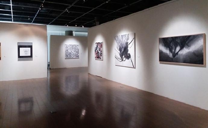 藝術中心《人文與文人―東海水墨與膠彩畫的離合》水墨展
