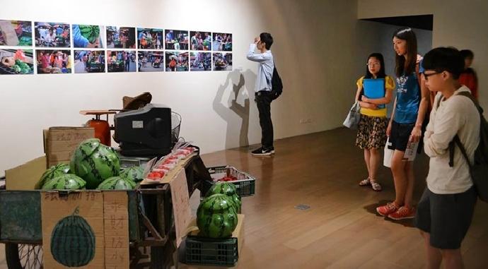 美術系第七屆藝術實習策展 「經驗模擬器」