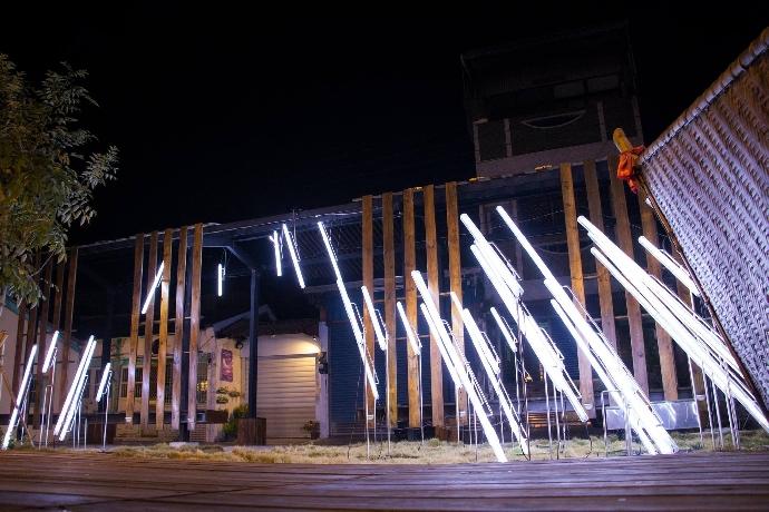 2019月津港燈節點亮美術系學生的創新表現