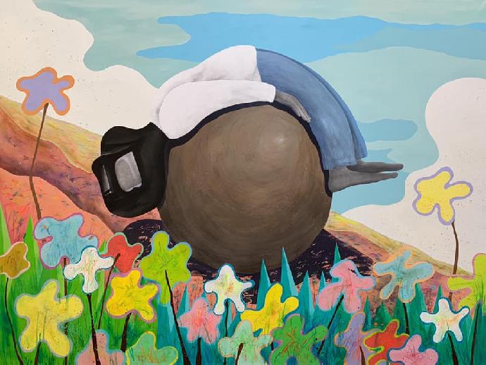 東美系友報報 |鍾嘉駿個展 : 巨石之上Chung Chia-Chun Solo Exhibition : Upon the Boulder